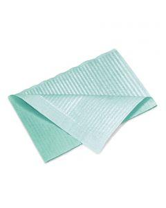 Patientenservietten, emerald green,